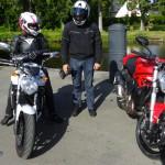 sortie moto à Betton