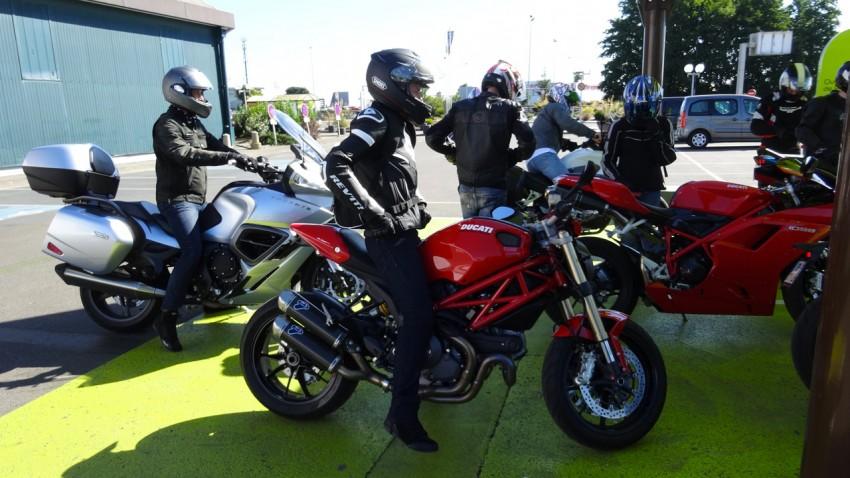 rassemblement de moto à Rennes