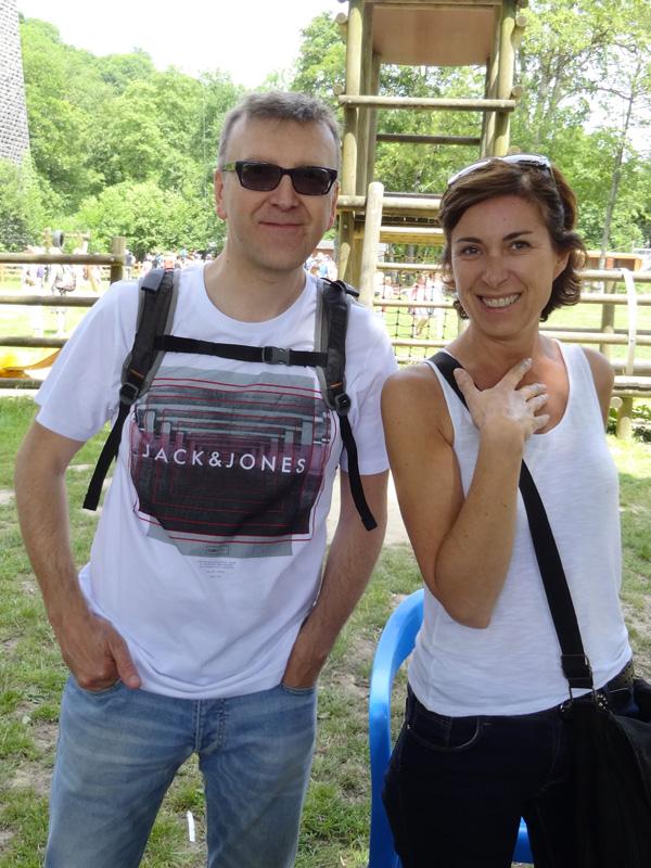 Stéphane et Nathalie, motard Rennais