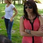 Agnès et Caroline, motardes Rennaises