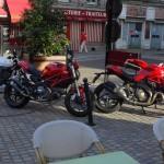 pause motarde à Combourg