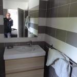 salle d'eau en chambre d'hôtes à Crozon