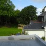 vue terrasse chambre d'hôtes landevennec