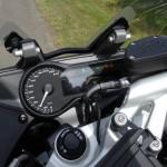 tableau de bord du R1200RS BMW