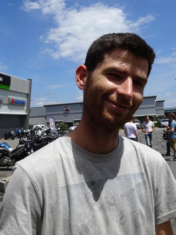 Ducati Tour 2015 pour Maxime