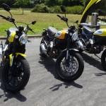 Ducati Scrambler à l'essai en ce 4 juillet 2015