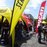 Stand Scrambler au Ducati Tour 2015