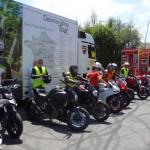 Essai moto Ducati à Laval