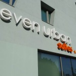 devanture de l'hôtel Seven Urban Suites de Nantes