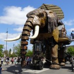 L'éléphant, la machine de l'île de Nantes