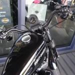 position de conduite sur le Nightster 1200 chez Harley Rennes