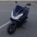 Scooter Honda de David Jazt en 2015
