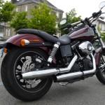 Harley, la nouvelle moto de David Jazt