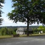 vue panoramique à Montreuil sur ille