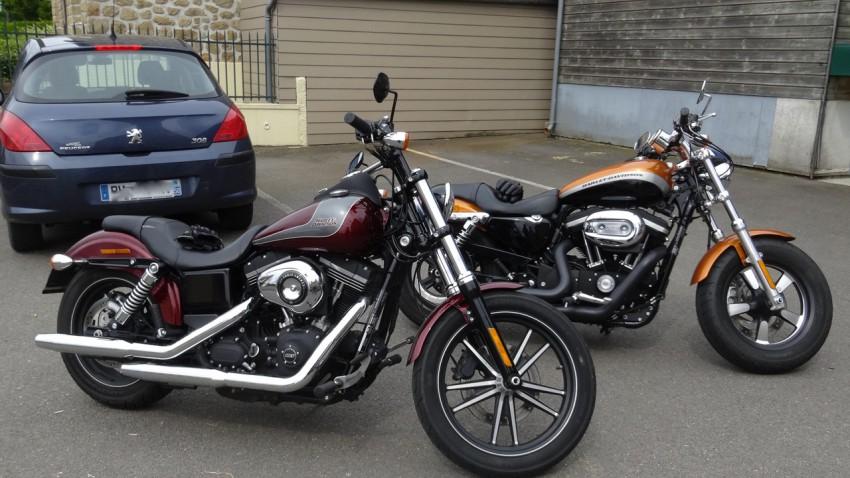 Street bob et XL 1200 CA
