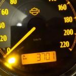 370km en Harley Davidson