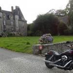 balade moto à la chapelle chaussée