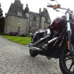 La chapelle chaussée : Harley Davidson