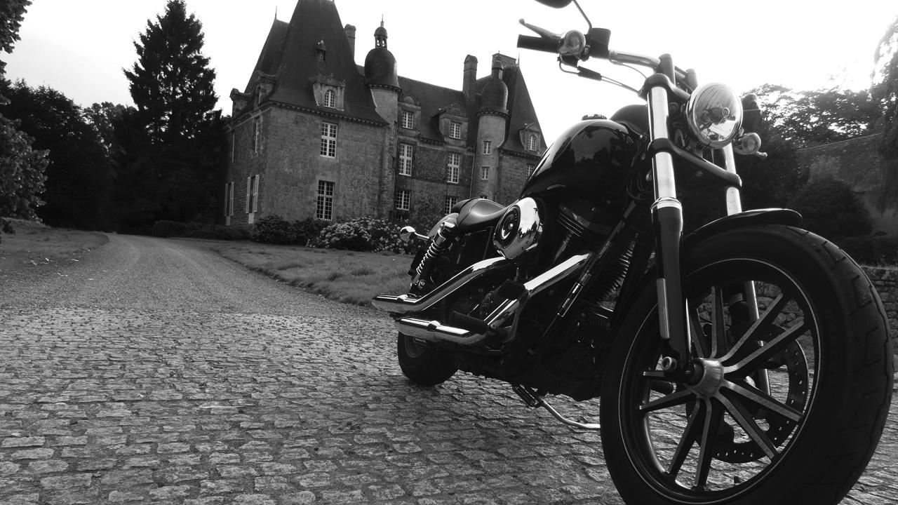 Harley Davidson Rennes de David Jazt