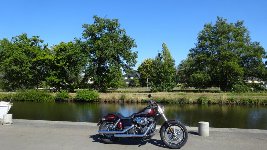David Jazt en Harley Davidson 103ci