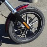 roue avant du Street Bob