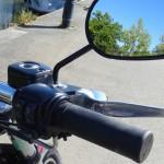 Comodo de droite sur une Harley Davidson