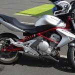 ER6 Kawasaki à Rennes
