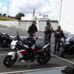 sortie moto au départ de Rennes (St Grégoire)