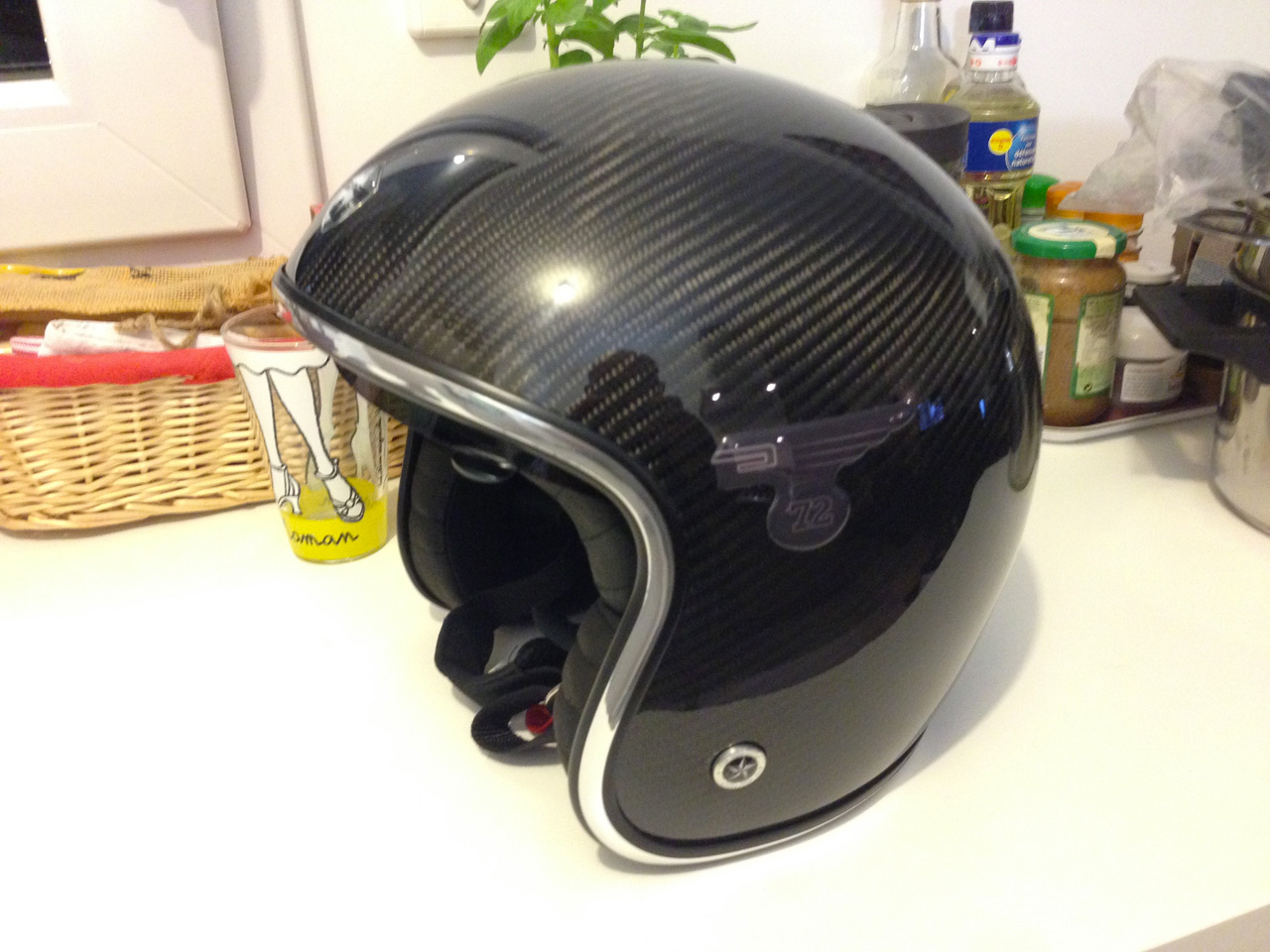 Casque moto Jet : marque GPA