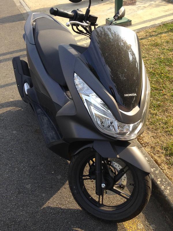Scooter PCX 125, moins de 2,4 litres au cent