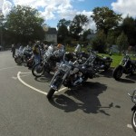 rassemblement Harley à Rennes