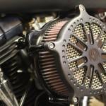 filtre à air sur Harley Davidson