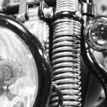 suspension du Cross Bones Harley Davidson