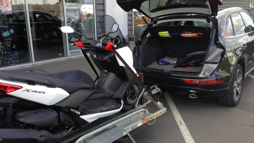 scooter pas cher à Rennes - image d'illustration - DR