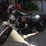 Garer sa moto à Intra Muros de Saint-Malo