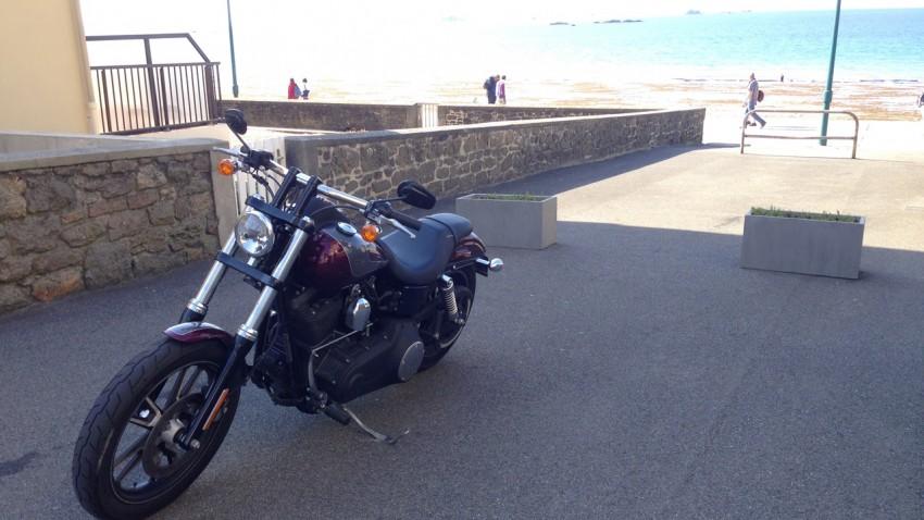 harley Davidson à St Malo