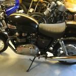 moto Triumph chez Hypnotik Cycles
