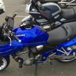 Suzuki Bandit 650 S bleue