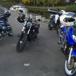 balade moto avec les copains