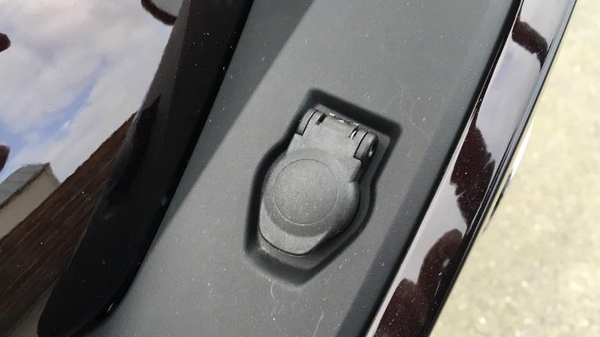 prise allume-cigare sur le BMW R 1200 RT