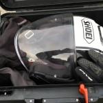 Rangement top case R 1200 GS