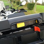 Système de fermeture du top case R 1200 GS