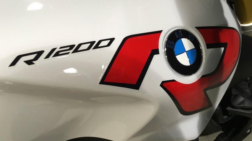 logo R1200R : moto BMW