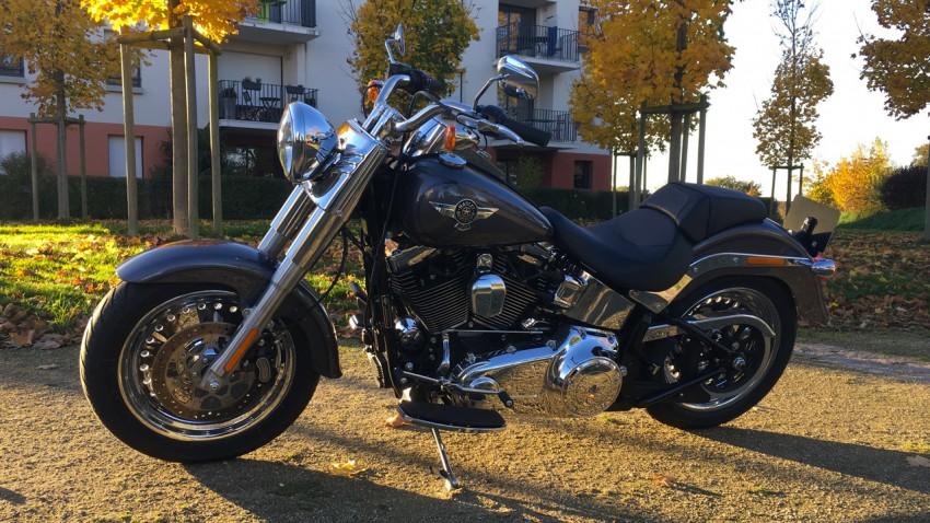 Moto Harley Davidson Fat Boy
