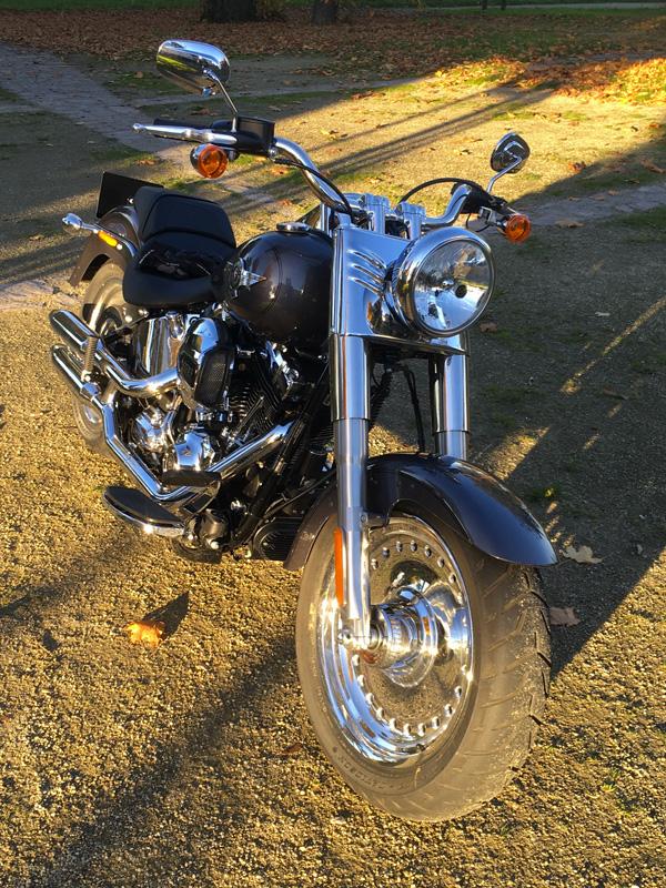 moto pour profiter du paysage