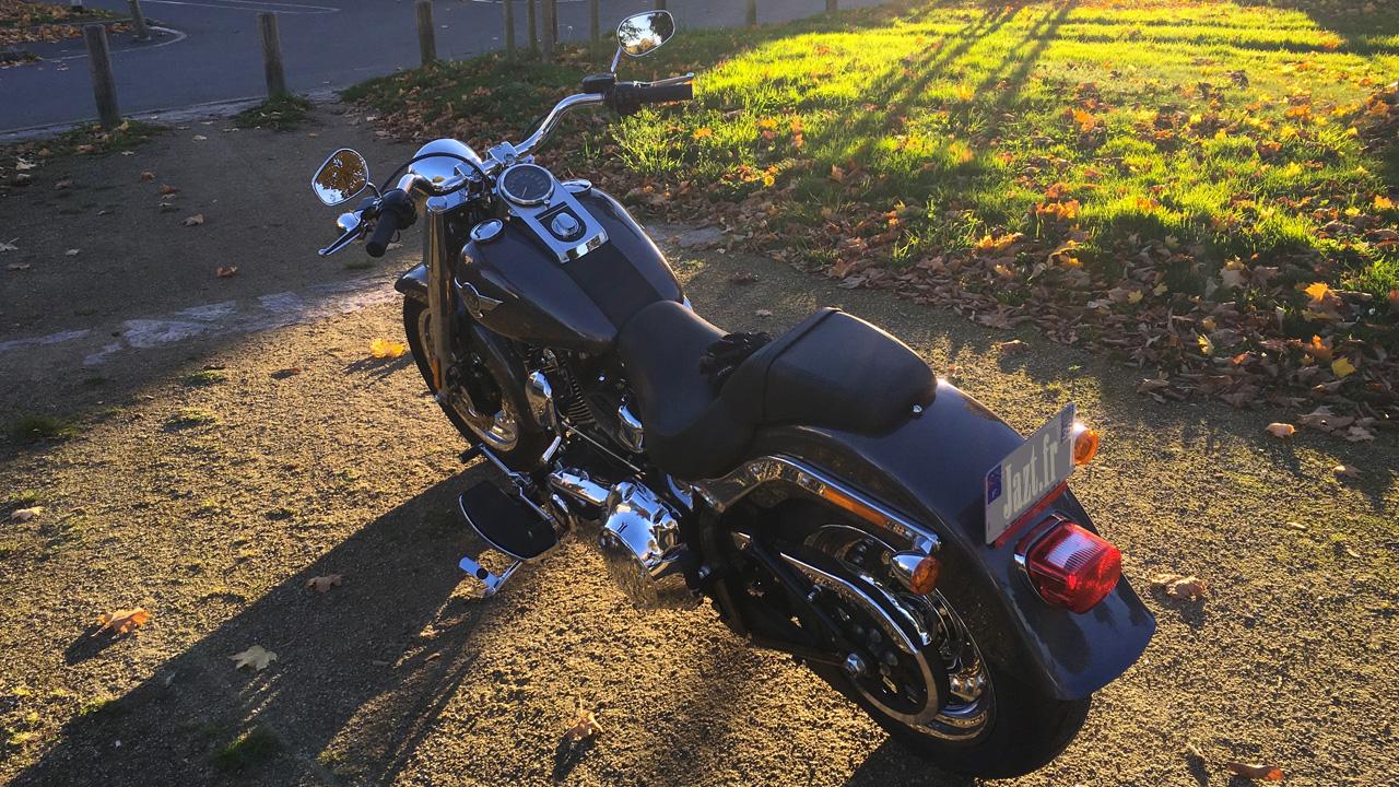 Fat Boy Harley Davidson 2016 grise