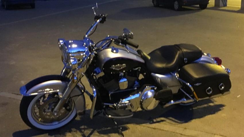 essai moto Roadking Harley Davidson