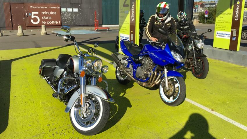 sortie moto à Rennes