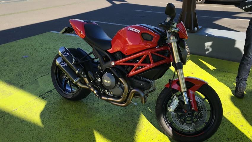 Ducati 1100 Evo de Loïc, moto Italienne à vendre