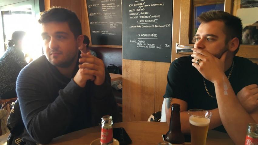 Antoine et Camille au Breizh Café de Cancale